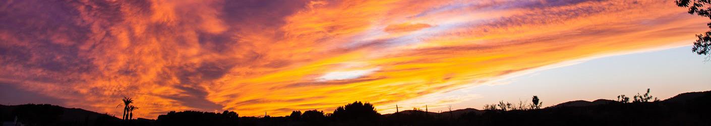 sunset My Home Ibiza